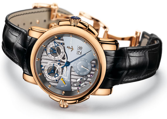 1fe8bb04ad74 Sonata Silicium Limited Edition in rose gold © Ulysse Nardin